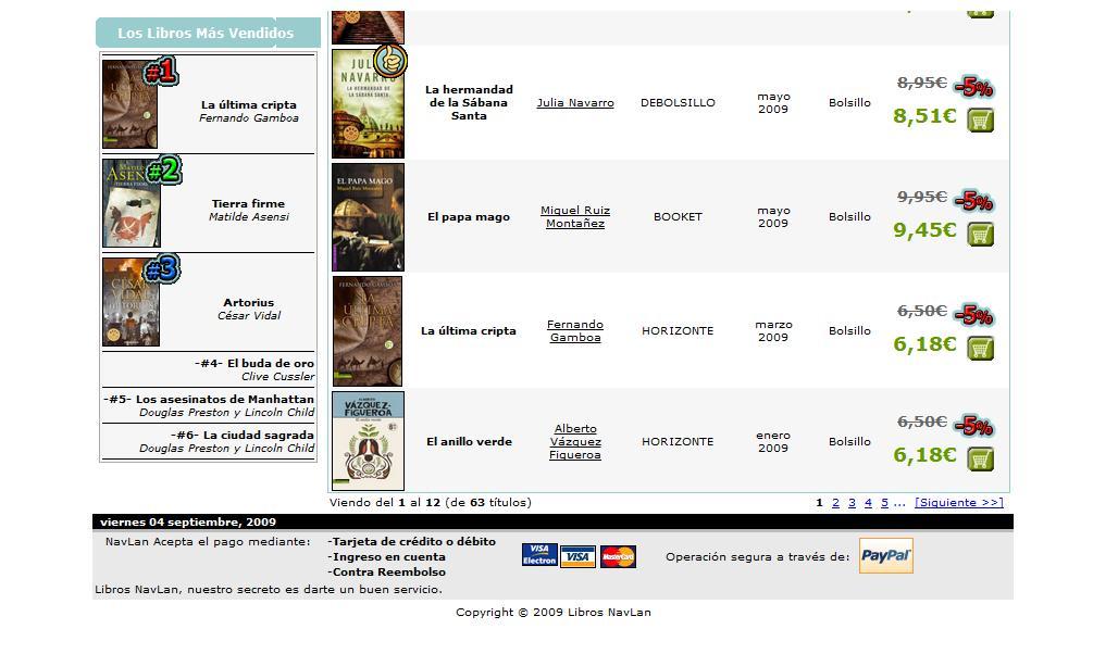 Nombre:  Best seller.jpg Visitas: 262 Tamaño: 82.6 KB