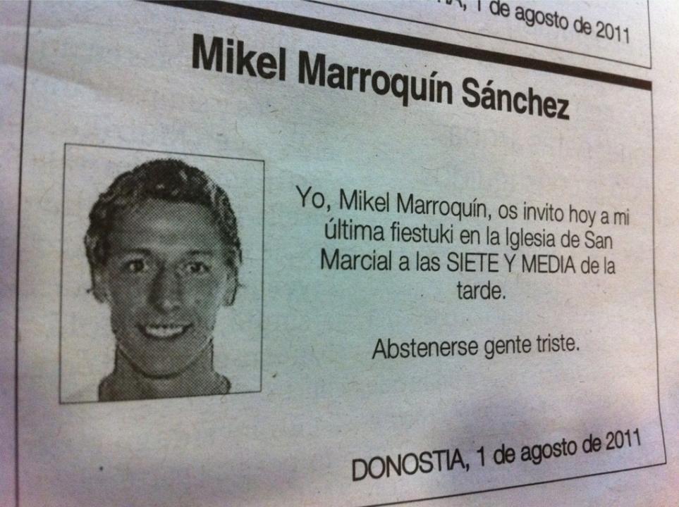 Nombre:  noticias-curiosas-esquela-mikel-marroquin-diario-vasco.jpg Visitas: 4536 Tamaño: 94.0 KB