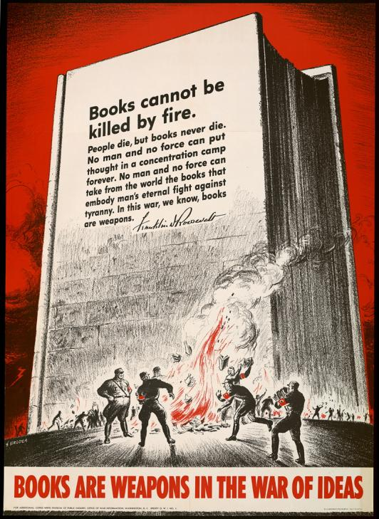 Nombre:  Books_are_Weapons_Poster_300dpi.jpg Visitas: 970 Tamaño: 100.5 KB